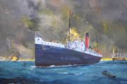 tableau marine martinique montagne pelee eruption naufrage : 8 mai 1902, l'apocalypse