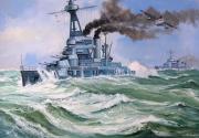 tableau marine cuirasse marine nationale tempete loire 130 : Le cuirassé Provence