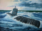 tableau marine kriegsmarine sousmarin : Uboot type XXI