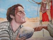 tableau personnages benhur peplum hollywood romains : Charlton Heston