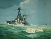 tableau marine cuirasse bretagne mers el kebir naufrage : Cuirassé Bretagne
