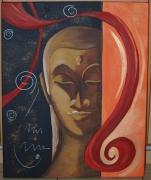 tableau autres bouddha spirale reflexion meditation : SONGE