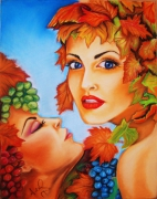 tableau autres sensualite amour inspiration automn : Sensualité automnale
