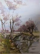 tableau paysages : LE RUISSEAU