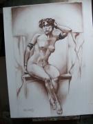 tableau nus : NU 1900 MARBRE