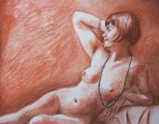 tableau nus nu : DETAIL NU AU COLLIER