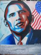 tableau personnages obama obama obama obama : obama
