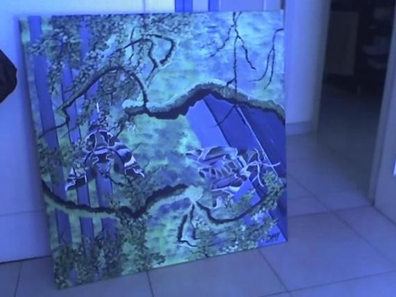 TABLEAU PEINTURE Paysages  - Camouflage