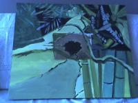 Abstrait bambous 3