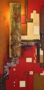 deco design abstrait creation originale decoration tableau lumineux applique tableau : SANS ISSUE (éclairé de jour)
