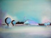 tableau paysages contemporain : country