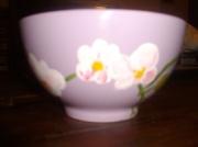 ceramique verre fleurs : Les Orchidées