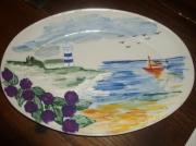 ceramique verre paysages bretagne : La Bretagne