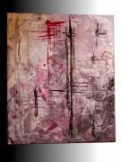 tableau abstrait : revolution