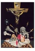 tableau scene de genre la sang perpignan religion cruxifiction : la Sang