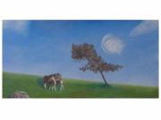 tableau paysages paysage animaux surealisme dali : Randonnée n°1 en Pays Basque