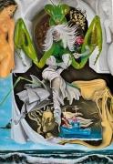 tableau personnages mante religieuse mythologie femme mer : Mante religieuse
