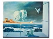 tableau personnages amants mer saint jean de luz : Les oeufmants
