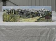 tableau paysages arbre chaleur grillons vacance : VACANCE D ETE