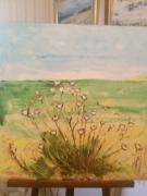 tableau paysages baie nature vent fleur sauvage : LA BAIE DE CANCHE