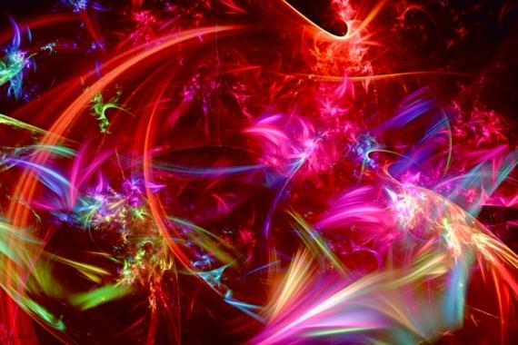 ART NUMéRIQUE abstrait art numérique papillons tourbillons Abstrait  - PAPILLONS TOURBILLONNANTS