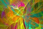 art numerique abstrait abstrait art numerique toiles filets : TOILE COSMIQUE 2