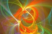 art numerique abstrait abstrait art numerique toiles labyrinthe : TOILE COSMIQUE 1