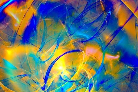 ART NUMéRIQUE abstrait art numérique transparence lumière Abstrait  - TRANSPARENCE 51F
