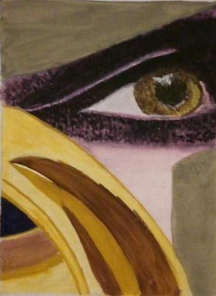 TABLEAU PEINTURE  - Mon Oeil