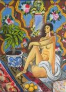 tableau : Femme assise