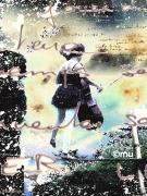 mixte personnages femme poster violoncelle liberte : En équilibre