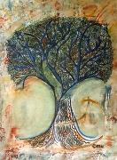 mixte paysages arbre ile rodrigues : l'arbre de Rodrigues