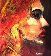 mixte personnages femme : Femme flamme 2011