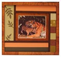 maman et bébé tigres
