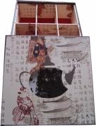 artisanat dart autres boite the cadeaux rangement : boîte à thé