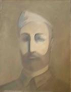 tableau personnages le soldat 1983 grigor nalband : Le soldat