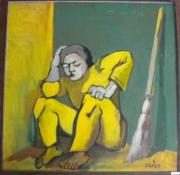 tableau personnages le pauvre 1997 grigor nalband : Le pauvre