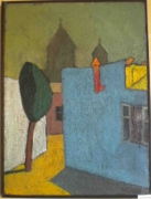 tableau villes gyumri grigor nalband jaune : Gyumri