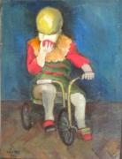 tableau personnages l enfant sans s 1994 grigor nalband : L'enfant sans souci