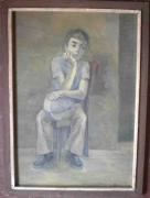 tableau personnages le garcon 1980 grigor nalband : Le garçon