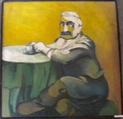 tableau personnages mon grandpere 1993 grigor nalband : Mon grand-père