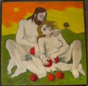 tableau personnages adam et eve 2003 grigor nalband : Adam et Eve