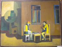 Les joueurs aux échecs