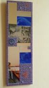 autres abstrait miroir violet coeur : miroir violet