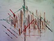 tableau abstrait : sans titre