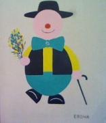 tableau personnages : Erdna-le-Clown
