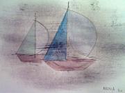 dessin marine : Voiles