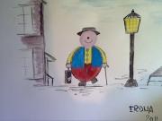 dessin personnages : Erdna-le-Clown