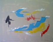 tableau abstrait : Abysse