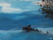 tableau paysages pennabilli italie : Pennabilli